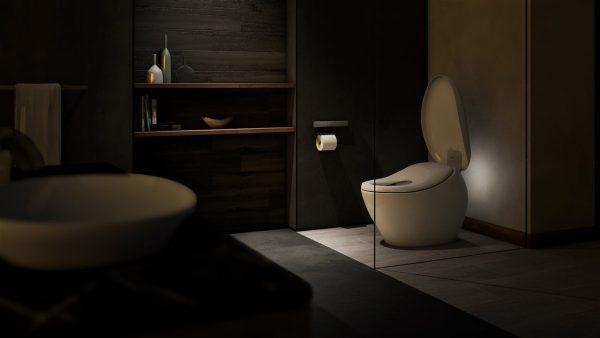 luxury hotel bathroom