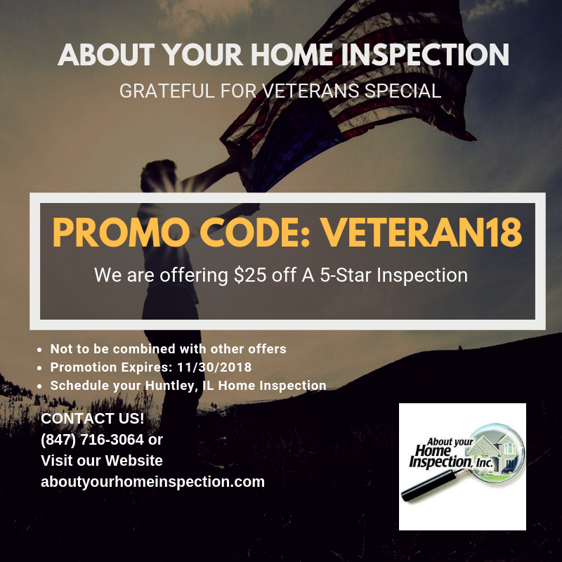 November Promo About Your Home Inspection