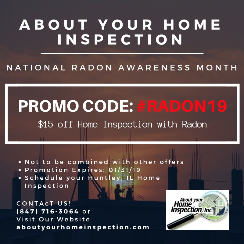January Promo About Your Home Inspection